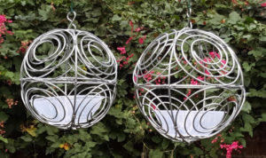 bird feeder for small birds silver